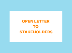 Open Letter Homepage Graphic